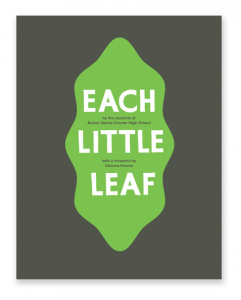 Each Little Leave Book Cover Image